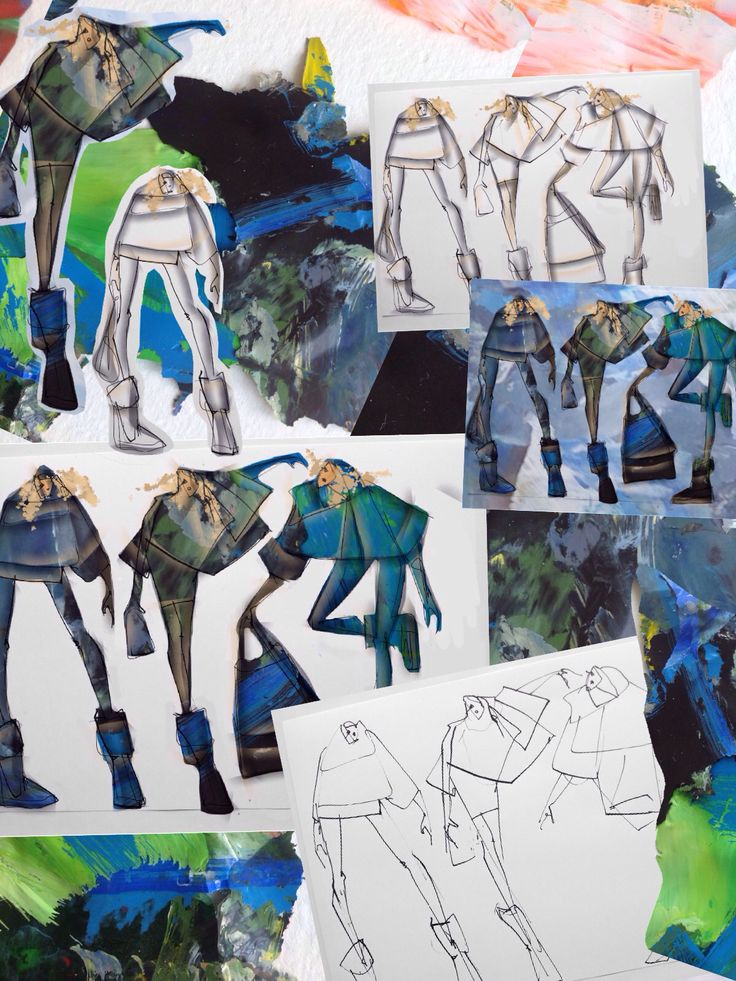 Natalia Quattromani's sketches