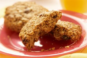 Monster Breakfast Cookies - With a taste this big, there Sesame, poppy and flax seeds make them great for breakfast or any time of day.