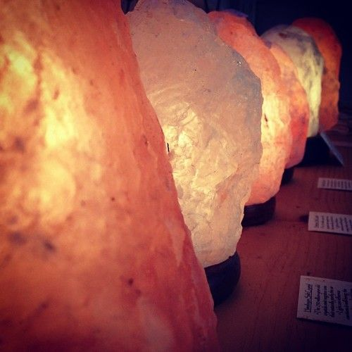 Himalayan Salt Crystal Lamps Salt rock lamps heighten the look & feel of any space. The 250 ...