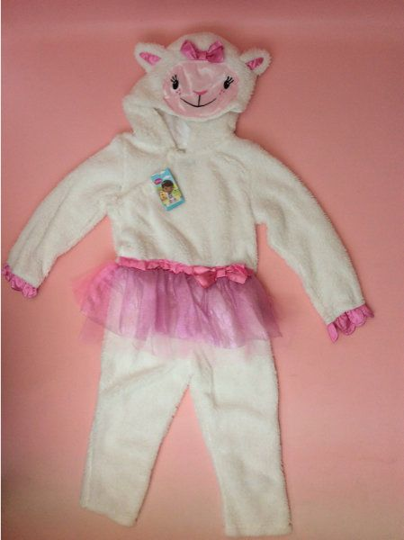 Doc McStuffins Lambie Fancy Dress Costume Halloween party Fancy Dress Age 2/3'y