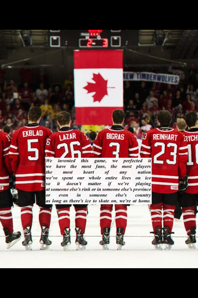 Team Canada   2014 winter games - gold medal win!