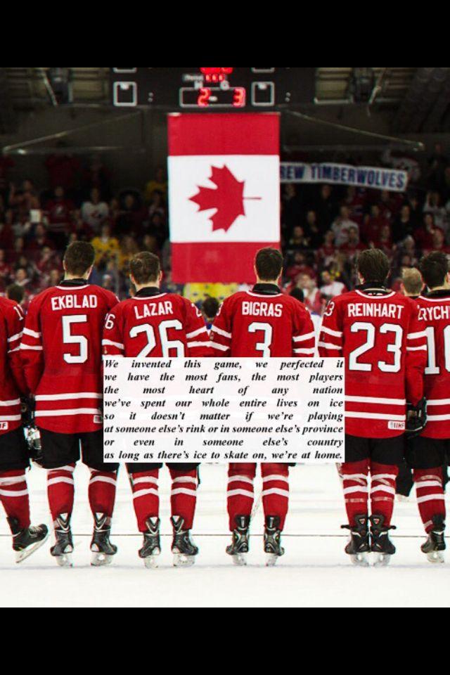 Team Canada    GO CANADA GO!!