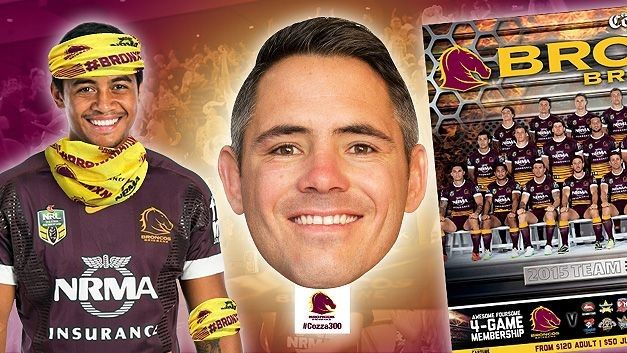 Brisbane Broncos NRL free giveaways at this weekends round one NRL game. Free fandanas and posters and face masks!