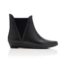 Cute, slip-on rain booties from loeffler randall.
