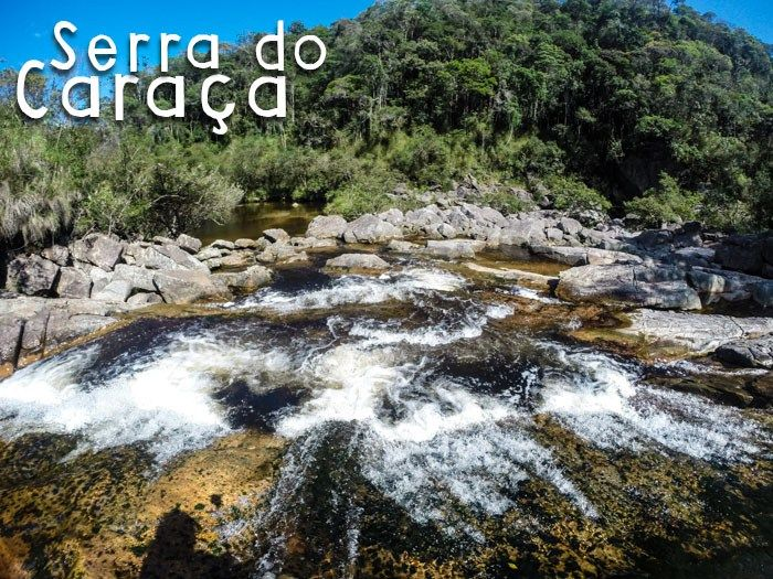Serra do Caraça: Santuário e Cachoeiras | Andar Comigo