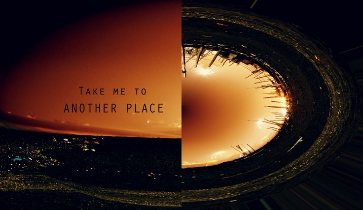 Take to another place.