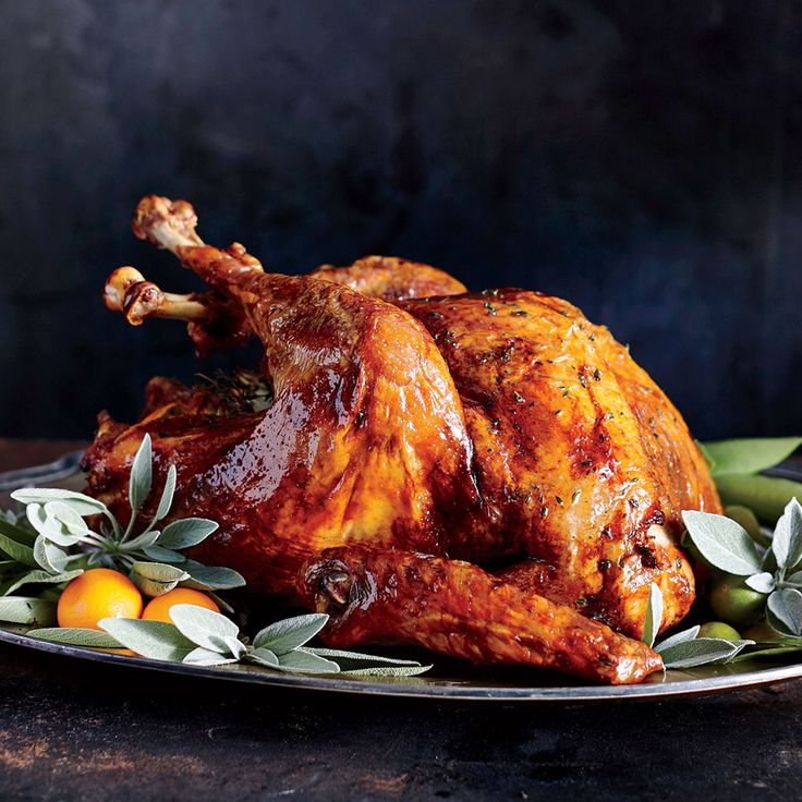 Lemon-Thyme Turkey - Crowd-Pleasing Thanksgiving Turkey Recipes - Cooking Light