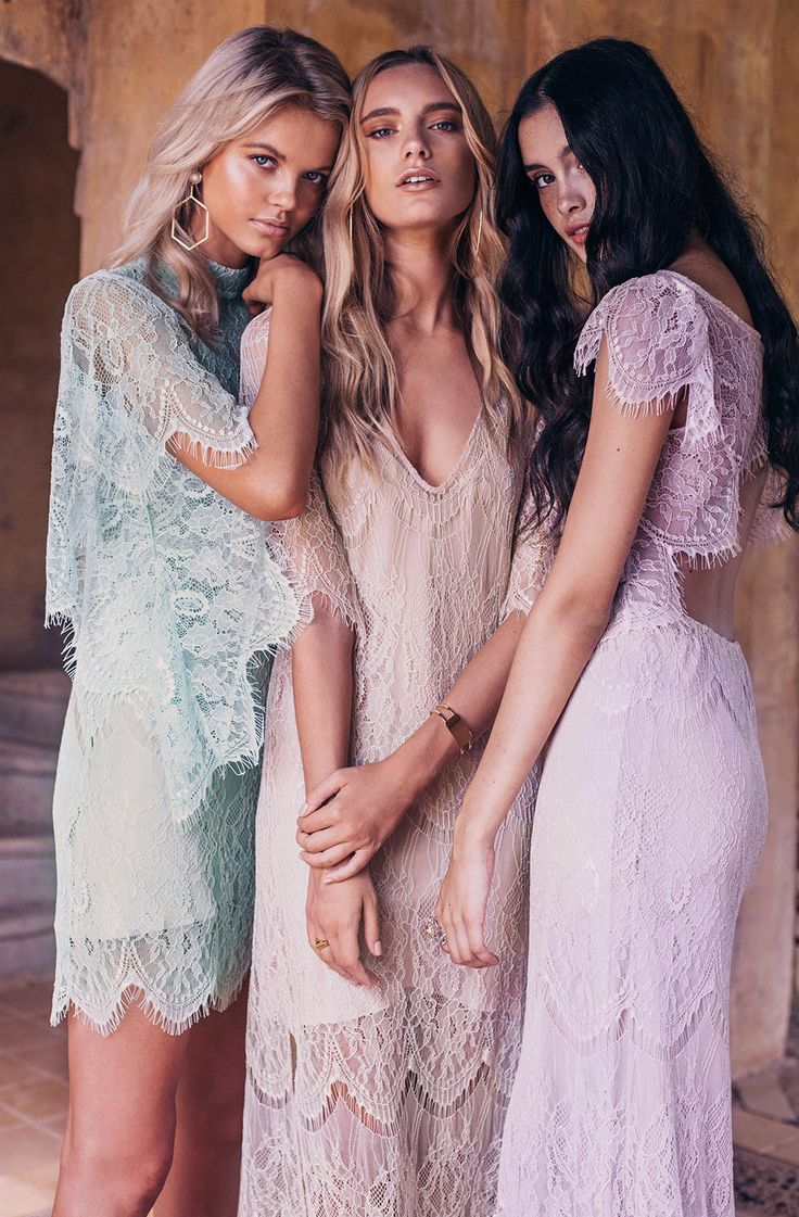 La Nouvelle Belle bridesmaid dress collection from Grace Loves Lace