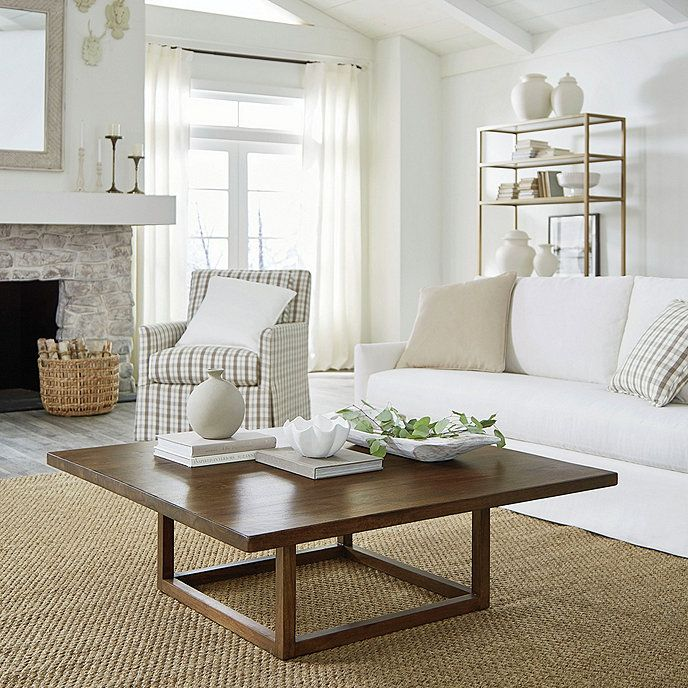 Suzanne Kasler Palisades Coffee Table Table Decor Living Room Square Coffee Table Decor Living Room Coffee Table #suzanne #kasler #living #room