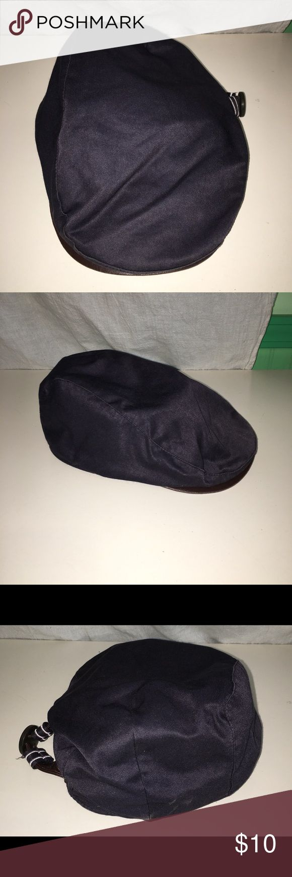 Grace Brand Gatsby/Newsboy/Driving Cap Womens This Grace blue cap is a womans O/S. Has a decorative buckle on one side. Has been sterilized with isopropyl alcohol spray. About 7-8 years old. In good condition. Grace Accessories Hats