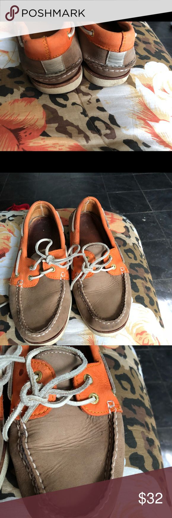 Sperry boat dock shoes Boat dock shoes size 9 paid 150.00 new.  These have normal wear and are used. Sperry Shoes Boat Shoes