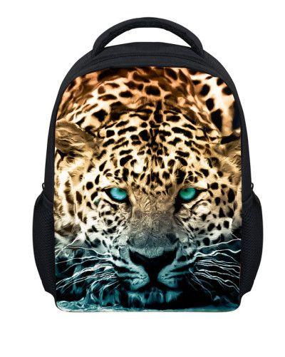 Hot Jurassic Park Dinosaur Kids Backpack for Boys Girls Zoo Animal Children Back Pack Tiger Mochila Infant Child Shoulder Bags