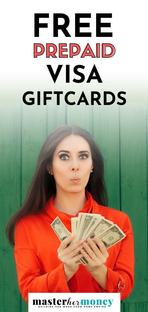 How To Get Free Prepaid Visa Gift Cards Visa Gift Card Visa Debit Card Prepaid Debit Cards
