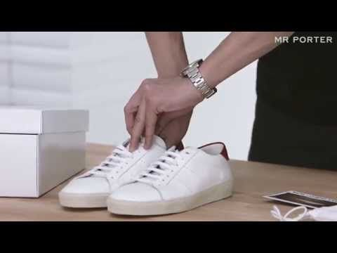 How to keep your box fresh sneakers white and clean. Step Spot clean them  Step Deep clean them Step Relace them Step Protect them Step Store them A  step by ...