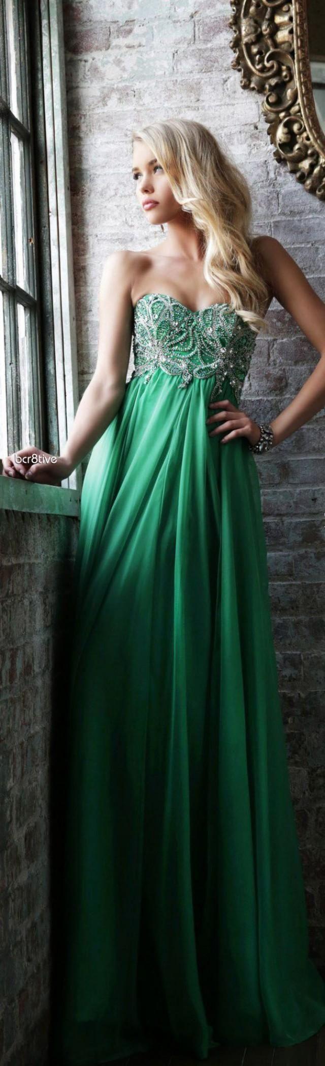 Sherri Hill 3907 green