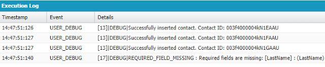Sample Partial DML Apex code in Salesforce -  Sample Code:List < Contact > conList = new List < Contact > {new Contact(FirstName = 'Test0' LastName = 'Test0' Department = 'Finance')new Contact(FirstName = 'Test1' LastName = 'Test1' Department = 'Technology')new Contact(FirstName = 'Test2' LastName = 'Test2' Department = 'Finance')new Contact()}; Database.SaveResult[] srList = Database.insert(conList false); for (Database.SaveResult sr : srList) {if ( sr.isSuccess() ) {// Develop code for…