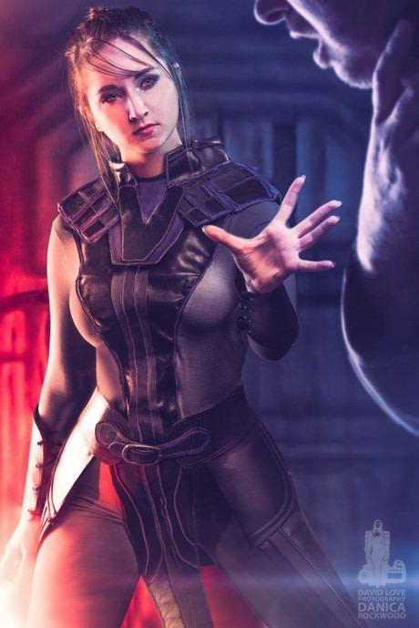 Danica Rockwood as Darkside Bastila Shan (Star Wars: KotOR)