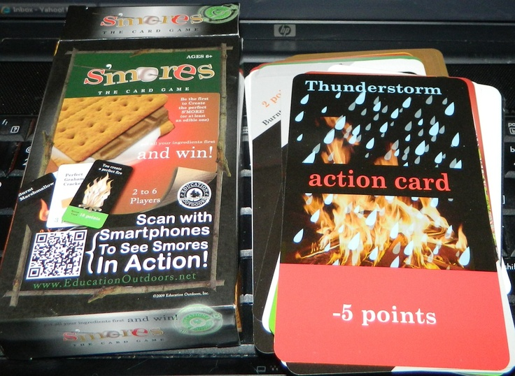 S'mores, the card game Review & Giveaway 2/16/13 Daily WW  http://wp.me/p2Zbi5-cF
