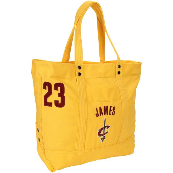 LeBron James Cleveland Cavaliers Women's High End Canvas Tote - $69.99