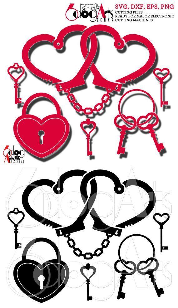 Love Handcuffs Wedding Clip Art Vector Svg Dxf Digital Files Etsy In 2021 Clip Art Wedding Clipart Wedding Clip