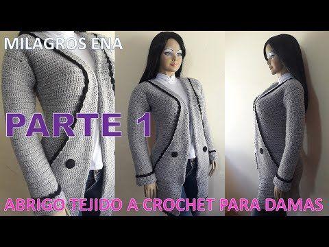Como tricotar à mão um casaco para mulheres ou mulheres de malha ou malha EASY ...