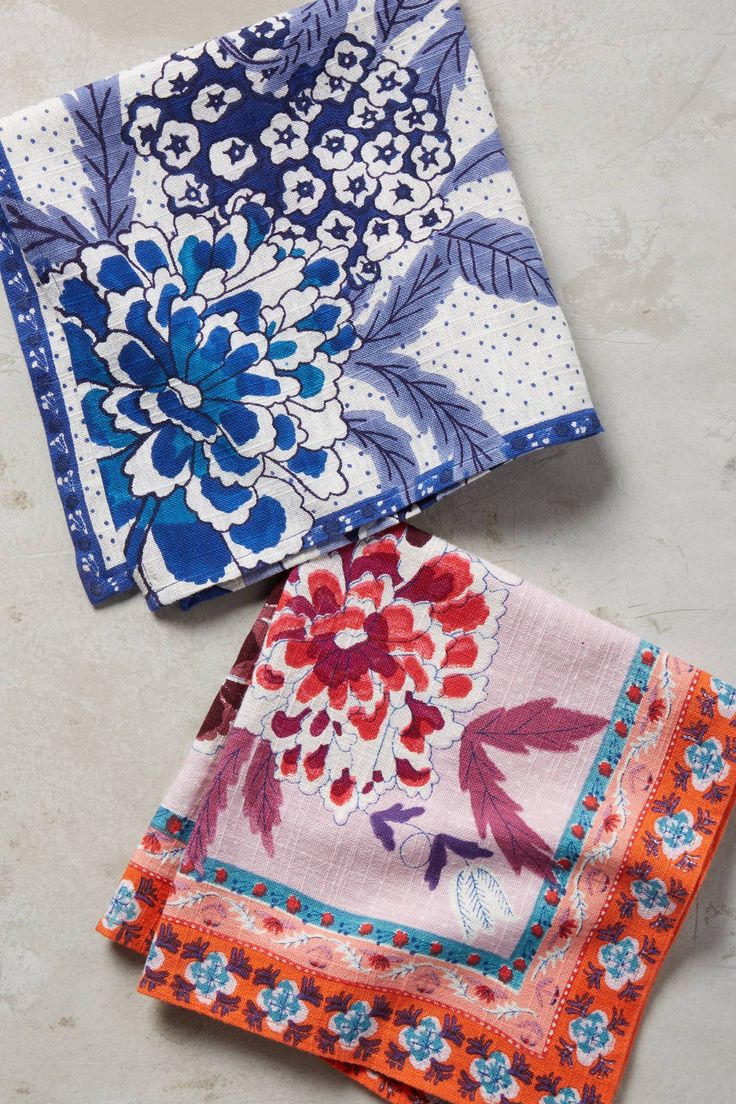 Juliette Rose Napkin - anthropologie.com