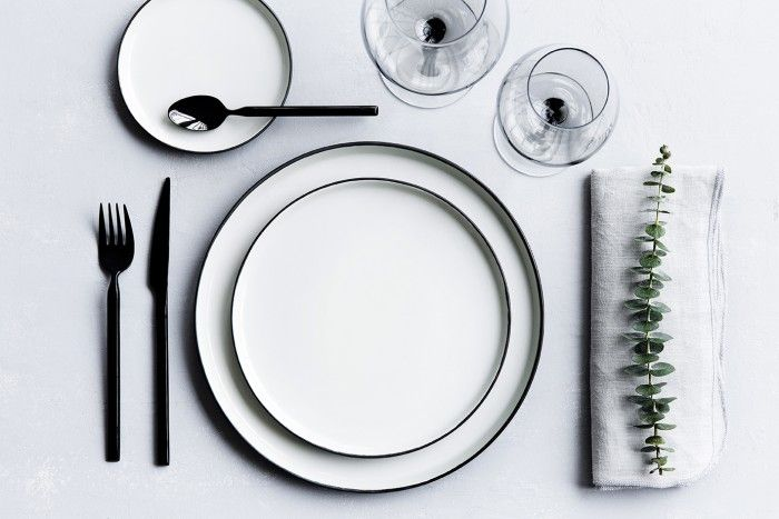 broste black cutlery ss15 collection