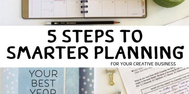 5 Steps to Smarter Planning for Creative Business  Have you ever been excited by a d...