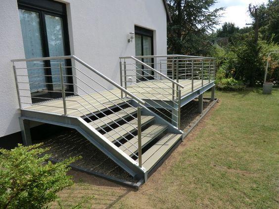 die besten 25 terrassen handlauf ideen auf pinterest. Black Bedroom Furniture Sets. Home Design Ideas
