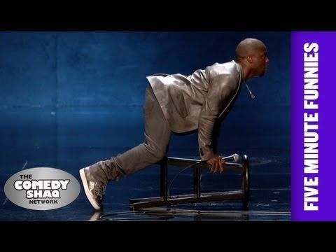 Kevin Hart⎢SEX can be uncomfortable at times⎢Shaq's Five Minute Funnies⎢...