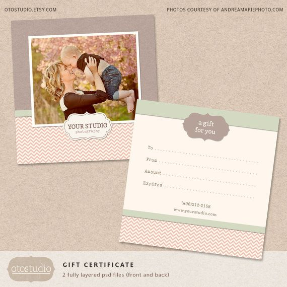 34 best Gift Voucher images on Pinterest Gift certificates - photography gift certificate template