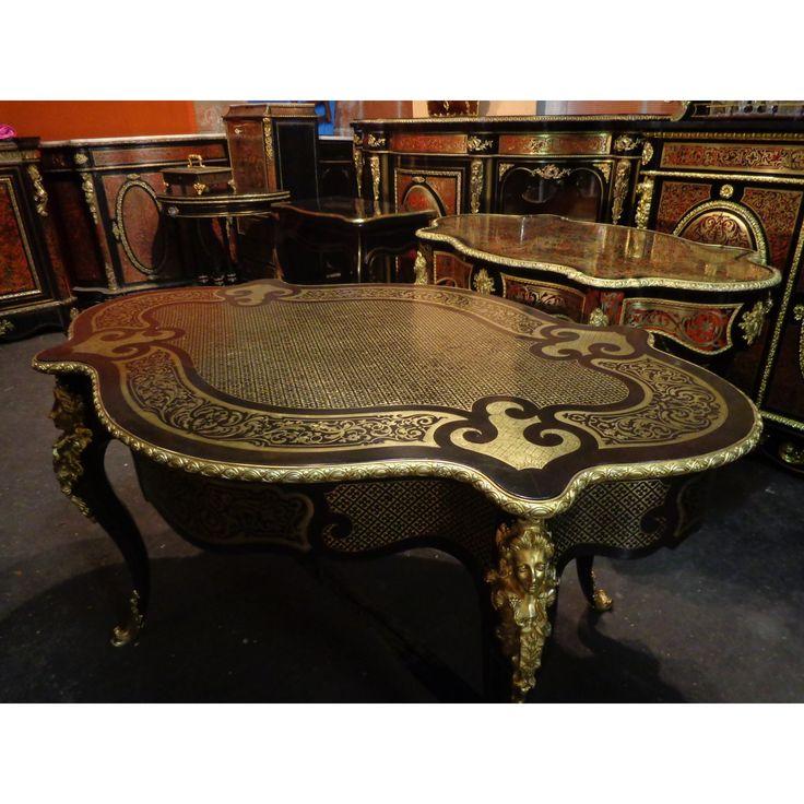 25 best ideas about meuble boulle on pinterest espace for Meuble xvii