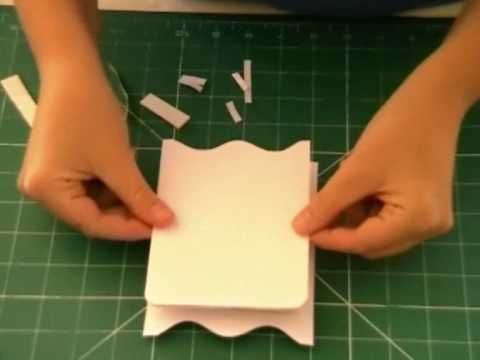 How to make a cute wardrobe shaped greetings card