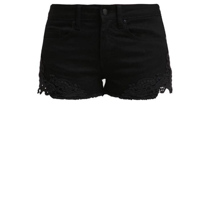 Jeans Shorts - black by Even&Odd