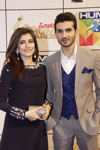 Red Carpet - 2nd Hum Awards 2014