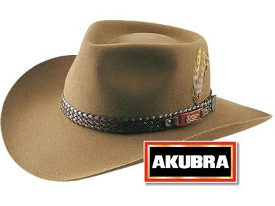 Akubra Snowy River Felt Hat - 56?