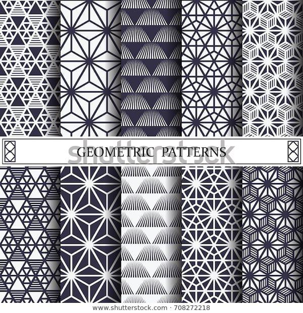 Suchen Sie nach Triangle Geometric Vector Patternpattern Fills Web-Stockbildern … – Tattoo ideen