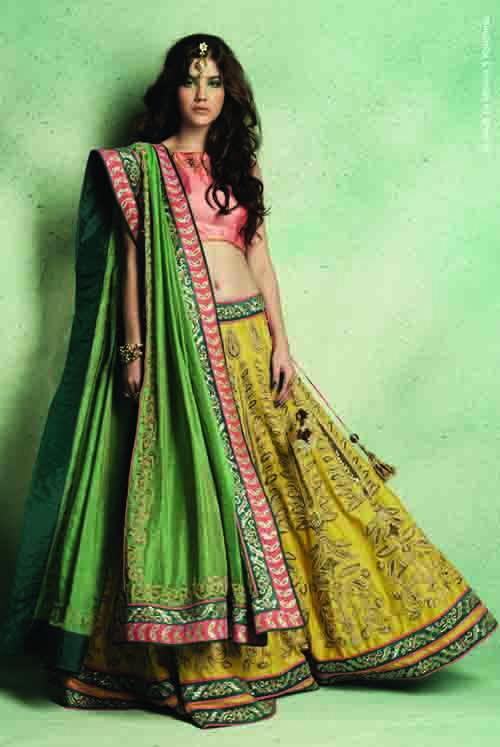 Jade by Monica & Karishma. Wardrobe fashion indian wedding bridal inspiration ideas  Stories by Joseph Radhik