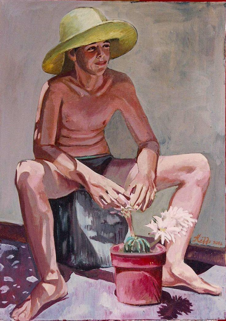 Oil on canvas 50x70 kelly Papastogiannoudi