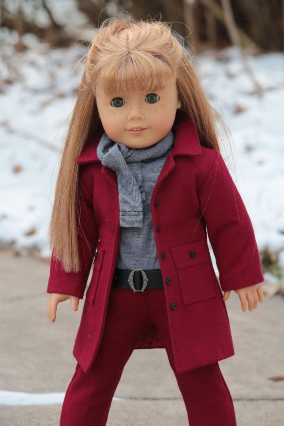 18 inch Doll Clothes Pattern. Noodle Clothing by NoodleClothing