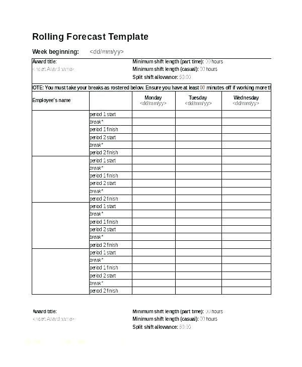 On Call Rotation Schedule Template In 2020 Excel Templates