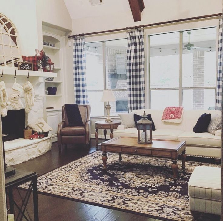 25+ Best Ideas About Plaid Curtains On Pinterest