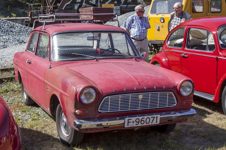1964 Ford Taunus 12m 2 Door Coupe 1498cc V4 Water Cooled Engine