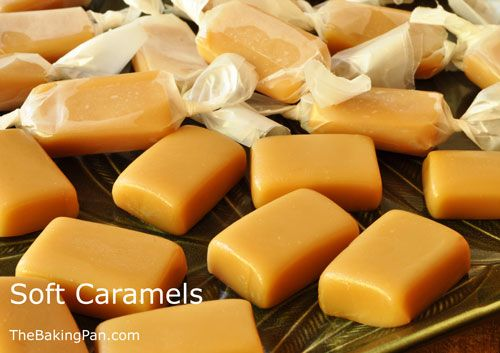 Candy Recipe | Soft Caramels Recipe | candy & cookies | Pinterest