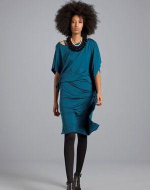 la robe bleue de kookaï