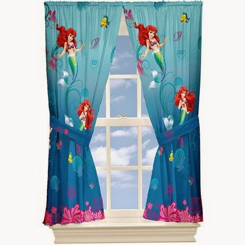 Find This Pin And More On Addisyn By Rperry050112. Black Friday Disney Little  Mermaid Curtains ...