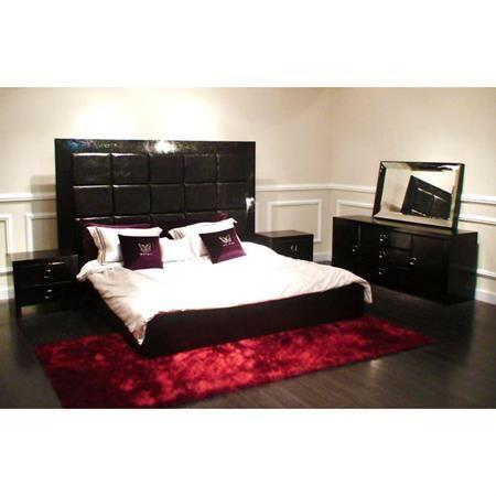 Bedroom Sets Black stunning black furniture bedroom photos - home design ideas