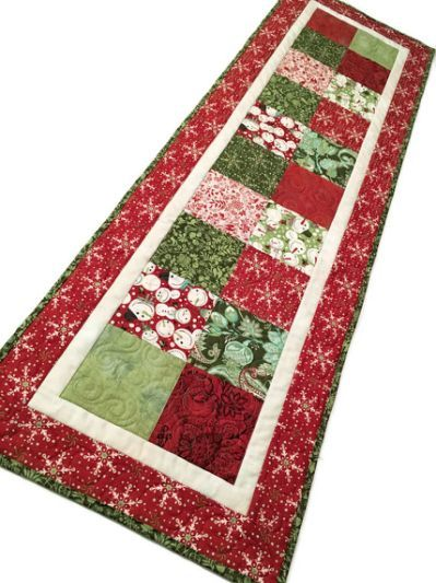 Christmas Charms Quilted Table