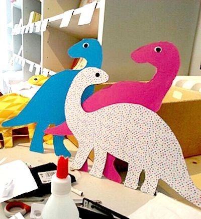 Des Dinosaures pour nos p'tits gars @ Le Petit Manuel