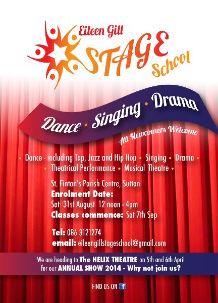 Leaflet for Stage School